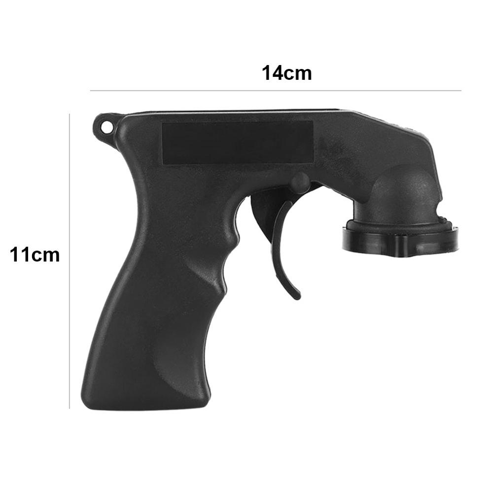Adaptador de pintura cuidados com aerossol spray pistola lidar com aperto completo gatilho travamento colarinho manutenção do carro lidar com aperto completo
