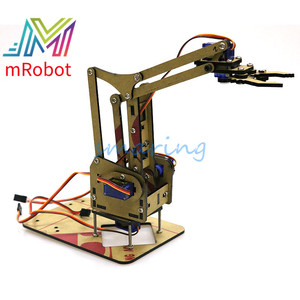 4 DOF Unassembly Mechanical Arm Robot Manipulator Claw for Arduino Maker Learning Robotic Education Maker Kit