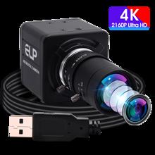 Cámara 4K USB 3840x2160 30fps Sony IMX415 Sensor HD USB Webcam cámara de vídeo con Zoom Manual lente Varifocal para transmisión en vivo
