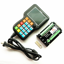 NCH02 NCD02 3/4/5 Axis USB CNC Handheld Motion Board DSP Manual CNC Controller G Code Offline System Controller for DIY CNC