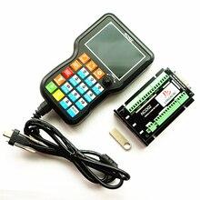 وحدة تحكم NCH02 NCD02 3/4/5 محور USB لوحة حركة محمولة باليد DSP تحكم يدوي بتحكم رقمي بالكمبيوتر G Code نظام تحكم غير متصل بالشبكة لتقوم بها بنفسك بالتحكم الرقمي بالكمبيوتر