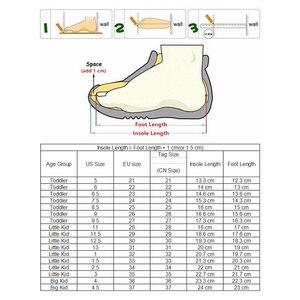 Image 5 - Apakowaเด็กวัยหัดเดินเด็กกลางแฟชั่นรองเท้าข้อเท้ากีฬากลางแจ้งกีฬารองเท้าวิ่งHook and LOOPรองเท้าผ้าใบสำหรับLittle Boys