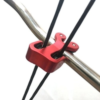 Hunting Archery Cable Slide with D Loop Aluminium Peep Sight String Separator Protector Set for Compound Bow|Holsters| |  -