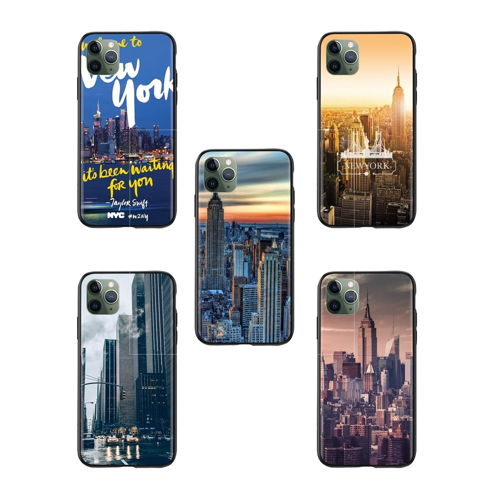 Luxury Movie Welcome To New York Wallpaper Protective Phone Skin For Iphone X 11 11pro Max Fitted Cases Aliexpress