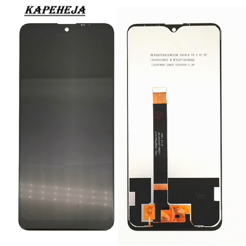 6.5For LG K50S LM-X540 LMX540HM LCD Display Touch Screen Digitizer Assembly with Bezel Frame With induction cable 5 0 for lg magna g4c h525n h525 h522y h520y h500 h502 lcd display touch screen digitizer assembly with bezel frame