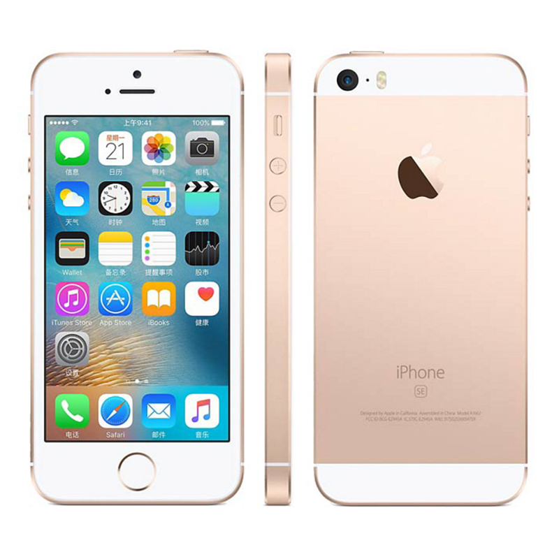 Apple iPhone SE 2GB 16gb Original A1662 LTE/GSM/CDMA Nfc Dual Core Fingerprint Recognition