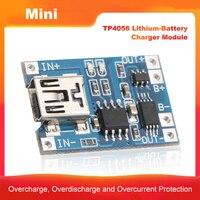 1a li ion micro/tipo c/mini usb 5 v 1a tp4056 18650 placa de carregamento do módulo do carregador da lítio bateria com funções duplas da proteção|Acessórios para ferramenta elétrica| |  -