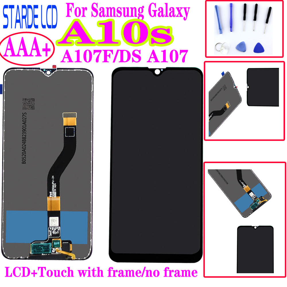 Original 100% Tested 6.2'' For <font><b>Samsung</b></font> Galaxy <font><b>A10s</b></font> <font><b>lcd</b></font> Display A107F/DS A107 Touch <font><b>Screen</b></font> Digitizer For <font><b>Samsung</b></font> <font><b>A10S</b></font> <font><b>lcd</b></font> image