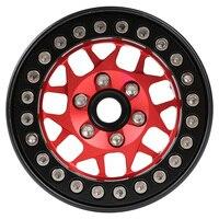 """INJORA 4PCS 1.9"""" Metal Beadlock Wheel Hub Rim for 1/10 RC Crawler Car Traxxas TRX4 Axial SCX10 90046 AXI03007 RedCat Gen8 5"""