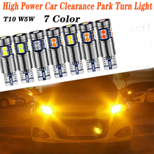 цена на 9 LED T10 Car Headlights Park Turn Light For Hyundai Solaris Tucson 2016 I30 IX35 I20 Accent Santa Fe Citroen C4 C5 C3 C2
