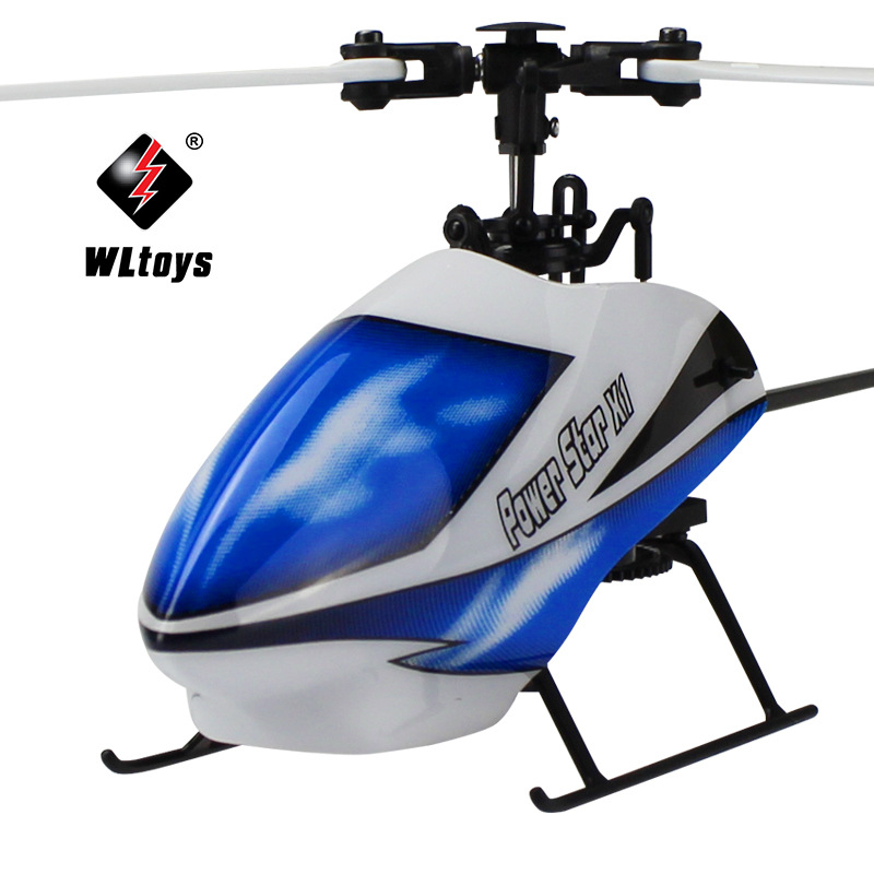 Weili V977 2.4G Remote Control Stand-up Flybarless Helicopters Airplane Six-way Joint Brushless Version Of Remote Control Aircra