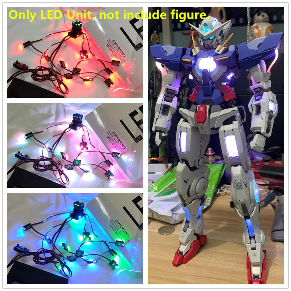 MJH M.J.H. Model Colorful Remote Control LED Unit For Bandai PG 1/60 GN-001 EXIA Gundam DM033