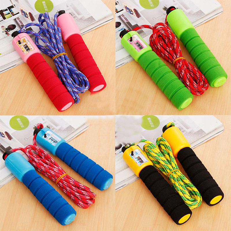 Jump Ropes With Counter Sports Fitness Adjustable Fast Speed Counting Crossfit Jump Skip Rope Procircle Professional Skipping