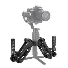 Estabilizador de empuñaduras de mano duales de 5 ejes, carga de 4,5 KG, para grúa Dji Ronin S Zhiyun 2 V2 Plus M AK4000 AK2000
