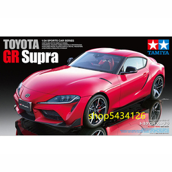 Tamiya-kit de construction de modèles voitures de Sport 24351, jouets d'assemblage pour enfants et adultes, 1/24 Toyota GR Supra 2020