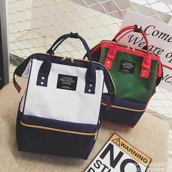 Image 2 - 2019 Women Backpack,Casual Best Travel Bag,Japan Ring School Bag Fashion Shoulder Bag For Teenage Girl Rucksack Mochila Bagpack-in Backpacks from Luggage & Bags