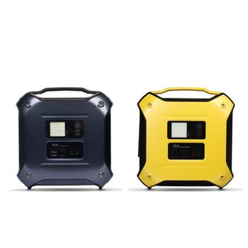 Portable and Huge Capacity Power Source Solar Generator with Bluetooth Speaker