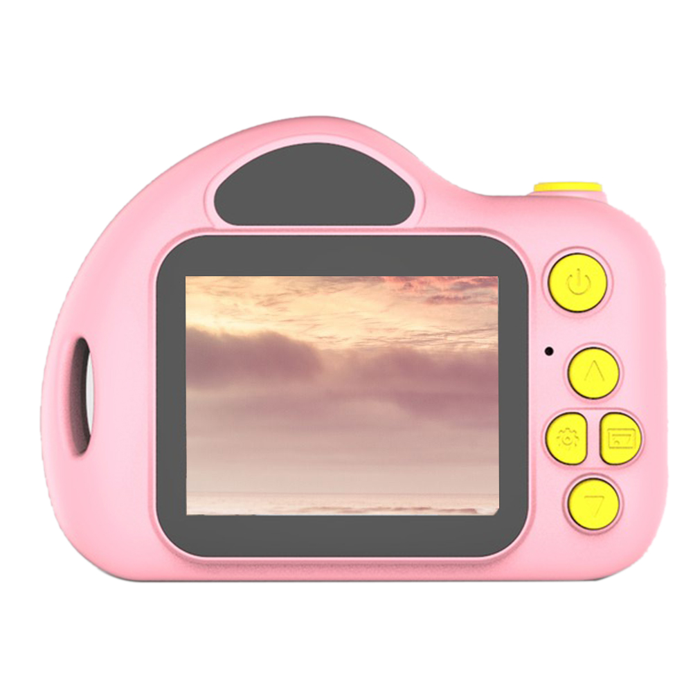 Children Song Funny Toy Photo Easy Operate Cute Video Recording ABS Mini Gift Kids Camera LCD Screen Bluetooth Portable