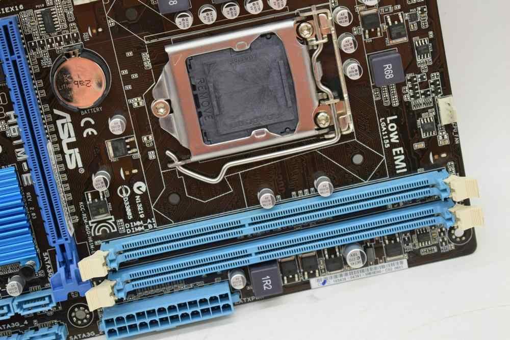 Voor Asus H61M-E LGA1155 M-ATX H61 Moederbord