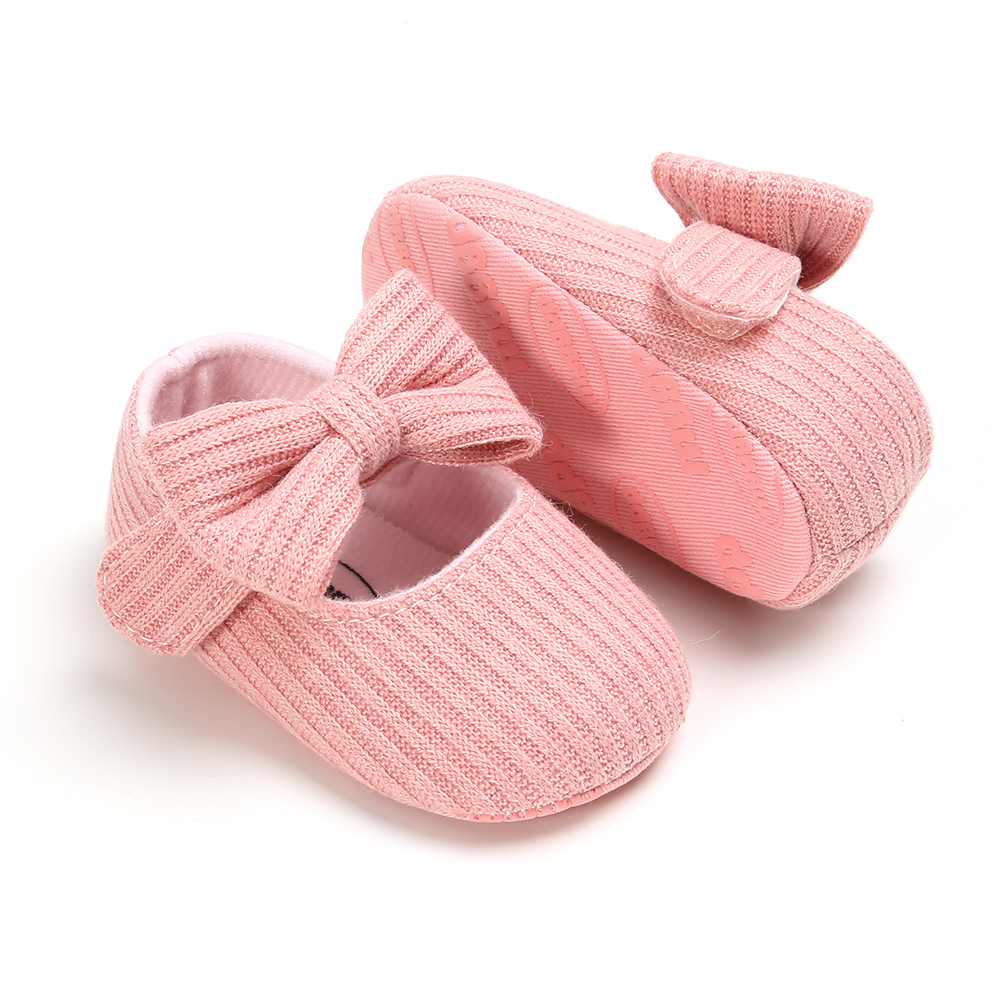 Baby Girls Cotton Shoes Retro Spring Autumn Toddlers Prewalkers Cotton Shoes Infant Soft Bottom First Walkers 0-18M 3