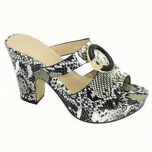 Image 5 - Último diseño, zapatos de mujer de diseño italiano, decorados con diamantes de imitación, zapatos de verano, más tamaño de zapatos de mujer, tacones altos, zapatos de fiesta