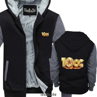 10CC CREW NECK pullover sweatshirt custom printed sweatshirt funny fashion men warm coat shirts Hip Hop sbz3258