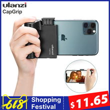 Ulanzi CapGrip Drahtlose Bluetooth Smartphone Selfie Booster Griff Grip Telefon Stabilisator Stand Halter Auslöser 1/4 Schraube