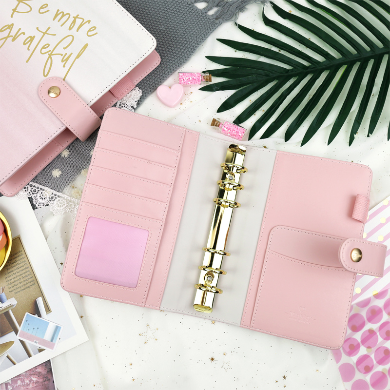 Jamie Notes Morandi Pink 2020 Year Daily Notebook A5A6 Schedule Plan Weekly Monthly Planner Organizer Office and School Supplies