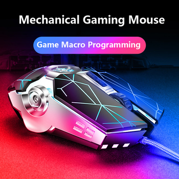 Pro Gamer Gaming Mouse 8D 3200DPI Adjustable Wired Optical LED Computer Mice USB Cable Silent Mouse for laptop PC 4