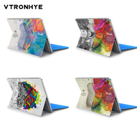 표면에 대 한 비닐 데 칼 스티커 이동/프로 7 다채로운 두뇌 인쇄 표면 프로 6 프로 5 프로 4 장식 피부에 대 한 노트북 스킨 스티커