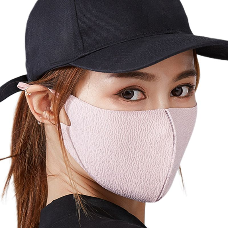 Unisex Winter Double Layer Cotton Mouth Mask Washable Anti Dust 3D Respirator 40JF