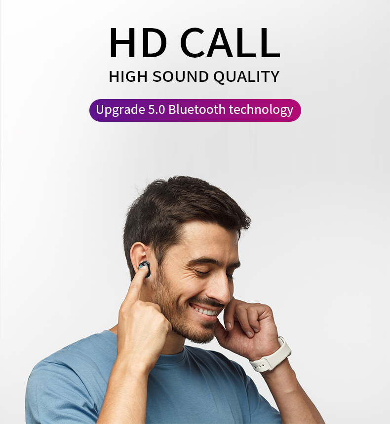 HBQ TWS Bluetooth Earphone Touch Control Mini Earbud With Mic LED Power Display Charge Box Wireless 3D Stereo Music Play Headset Hfcb593dcaf974477a851d9c5d92395c9C