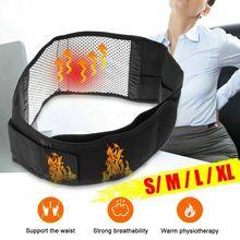 Adjustable Waist Shapers Tourmaline Self heating Magnetic Therapy Back Waist Support Belt Lumbar Brace Massage Band Health Care