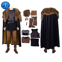 Manluyunxiao Ragnar Lothbrok Cosplay Halloween Costumes for Kid Men Adult Vikings Suits Carnival Masquerade Outfit Custom Made