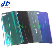 10pcs חזור זכוכית סוללה כיסוי Replaement עבור Huawei Honor 10 לייט Honor10 אחורי דלת שיכון מקרה סוללה כיסוי אחורי זכוכית פנל