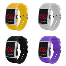 Men's LED Watches Male Digital Watch World Time Step Count Luminous Alarm Illumination Time Reminder 24-Hour Instructions 220v digital cumulative time counter resetable timer count working hour