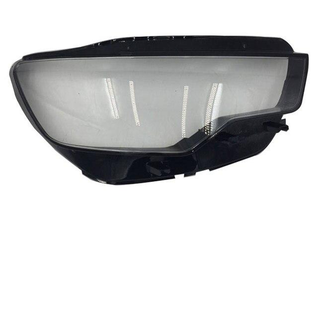 Trước đèn pha đèn pha đèn thủy tinh bóng vỏ đèn trong suốt khẩu trang Cho Xe Audi A6L C7 2013 2015