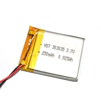 350mAh 303035 litowo-jonowa Bateria litowo-polimerowa 3 7v li-po Li-ion polimerowa Bateria MP3 MP4 GPS urządzenia medyczne baterie tanie i dobre opinie monkeystick 0-1300 mAh Kompatybilny ONEPLUS