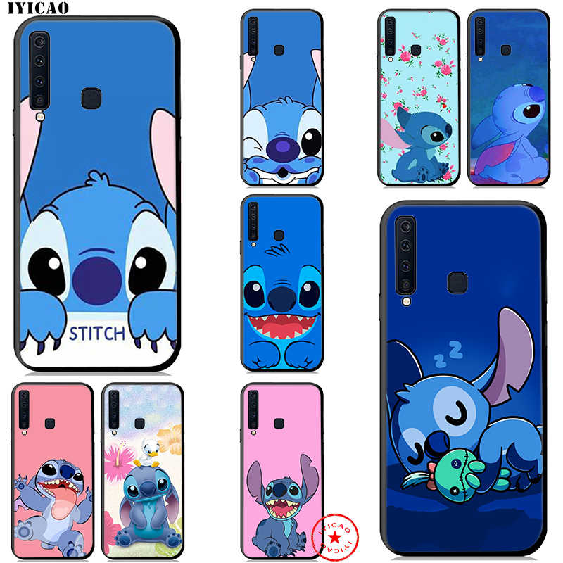 IYICAO Cartoon Stitch Soft Case for Samsung Galaxy A50 A70 A60 A40 A30 A20 A10 M10 M20 M30 M40 Phone Case
