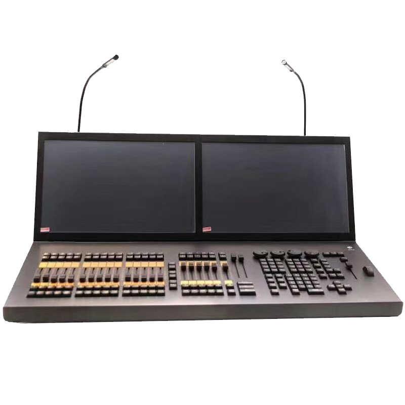 משלוח חינם MA doubel/לשלושה מגע sreen שלב אפקט אור ציוד בקר קונסולת עבור DJ דיסקו קרן לשטוף ספוט sharpy