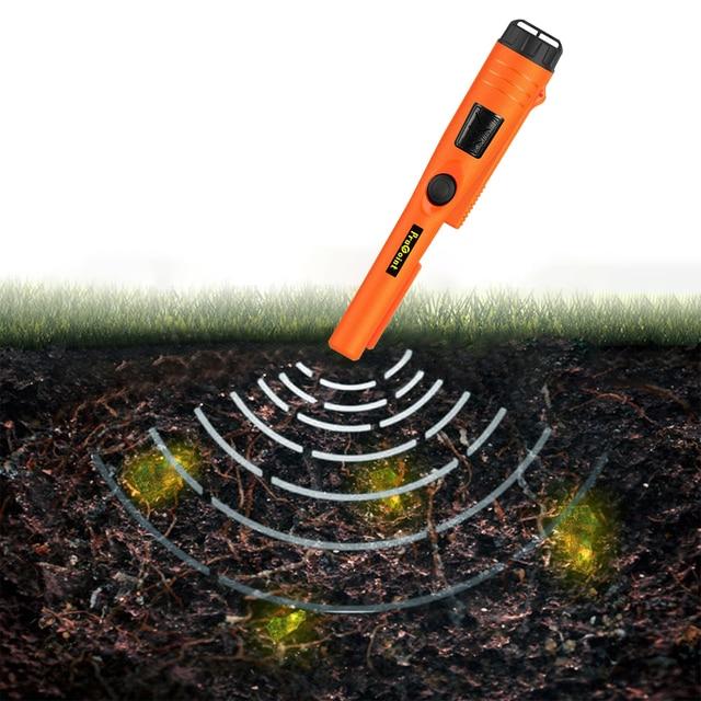 Waterproof Underground Treasure Locator Handheld Security Inspection Pin Pointer Waterproof Archaeology Digger Device 1