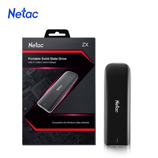 Netac External SSD Hard Drive 1TB 500GB 250GB NVMe SSD Portable SSD External Solid State Drives for Mac Latop/Desktop 3