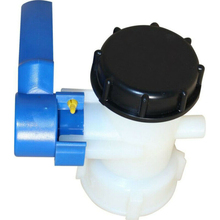 IBC Adapter DN40 62mm Coarse Thread Ball Valve Outlet Valve Rainwater Tank for simple IBC containers from Mauser and Mamor