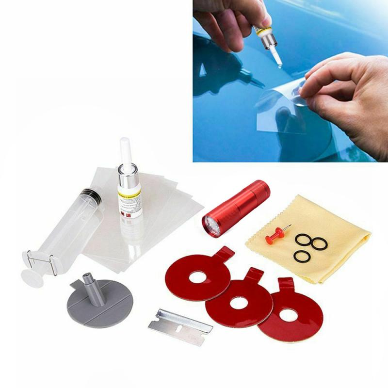 NEW  Repair Tools Set Car Windshield Repair Kit Glass Windscreen UV Light DIY Car Auto Kit Restore Repairing Set Glass For Chip