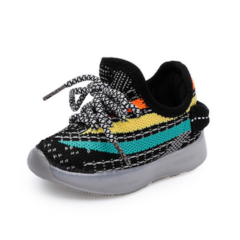 DIMI 2020 Autumn Baby Shoes For Girl Boy Soft Comfortable Infant Casual Shoes Knitting Breathable Non-slip Kid Sneakers