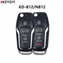 5 개/몫, 오리지널 KEYDIY KD900/KD X2/KD MINI 키 프로그래머 원격 제어 KD B12 4/3 NB12 3/4 포드 자동차 키