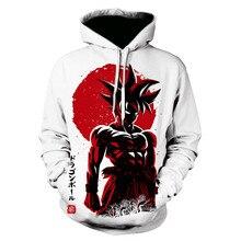 New Design Dragon Ball Z Goku Hoodies DBZ Strong Printing 3D Hooded Sweatshirt Men Women Harajuku Unisex Outerwear Hoody