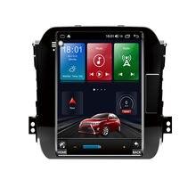 4G LTE Android 10 para Kia Sportage 2008-2015 Tesla tipo Multimedia estéreo reproductor de DVD del coche de navegación GPS Radio