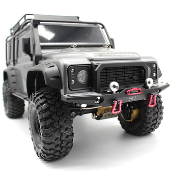 Hot Racing aluminum front bumper for the Traxxas TRX-4 or Axial SCX10 II