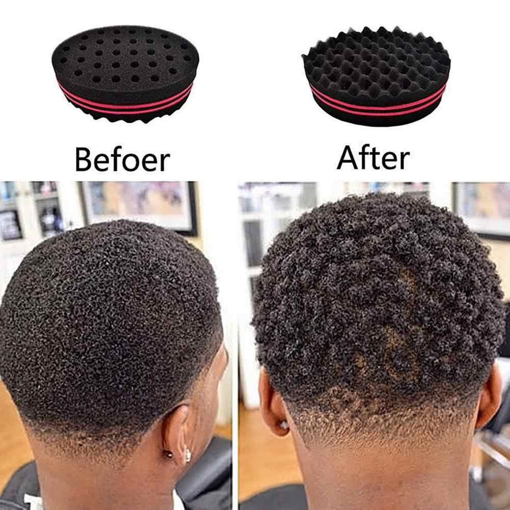 Two Sided Hole Oval Sponge Brush Curler Elastic Twist Afro Curl Coil Wave Tool Dreadlocks Curl Brush Sponge Tools Combs Aliexpress